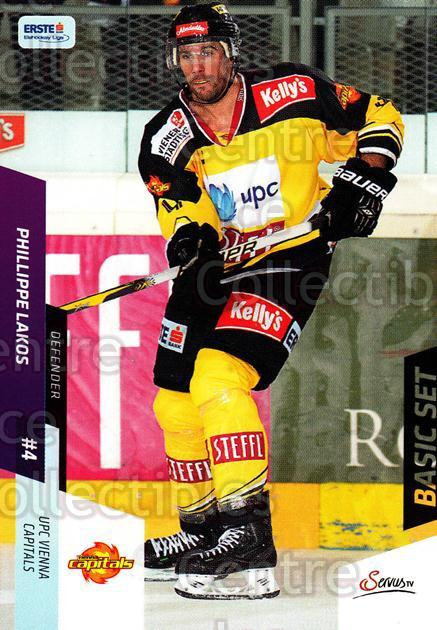 2014-15 Erste Bank Eishockey Liga EBEL Basic #101 Philippe Lakos<br/>4 In Stock - $2.00 each - <a href=https://centericecollectibles.foxycart.com/cart?name=2014-15%20Erste%20Bank%20Eishockey%20Liga%20EBEL%20Basic%20%23101%20Philippe%20Lakos...&quantity_max=4&price=$2.00&code=654681 class=foxycart> Buy it now! </a>