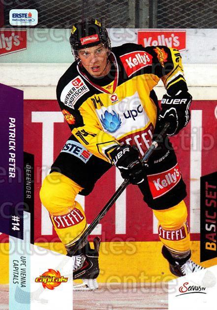 2014-15 Erste Bank Eishockey Liga EBEL Basic #102 Patrick Peter<br/>4 In Stock - $2.00 each - <a href=https://centericecollectibles.foxycart.com/cart?name=2014-15%20Erste%20Bank%20Eishockey%20Liga%20EBEL%20Basic%20%23102%20Patrick%20Peter...&quantity_max=4&price=$2.00&code=654682 class=foxycart> Buy it now! </a>