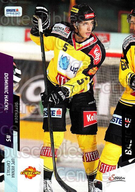2014-15 Erste Bank Eishockey Liga EBEL Basic #103 Dominic Hackl<br/>4 In Stock - $2.00 each - <a href=https://centericecollectibles.foxycart.com/cart?name=2014-15%20Erste%20Bank%20Eishockey%20Liga%20EBEL%20Basic%20%23103%20Dominic%20Hackl...&quantity_max=4&price=$2.00&code=654683 class=foxycart> Buy it now! </a>