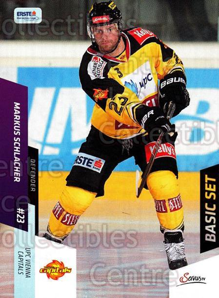 2014-15 Erste Bank Eishockey Liga EBEL Basic #105 Markus Schlacher<br/>3 In Stock - $2.00 each - <a href=https://centericecollectibles.foxycart.com/cart?name=2014-15%20Erste%20Bank%20Eishockey%20Liga%20EBEL%20Basic%20%23105%20Markus%20Schlache...&quantity_max=3&price=$2.00&code=654685 class=foxycart> Buy it now! </a>