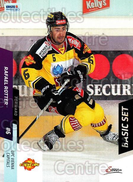 2014-15 Erste Bank Eishockey Liga EBEL Basic #110 Rafael Rotter<br/>4 In Stock - $2.00 each - <a href=https://centericecollectibles.foxycart.com/cart?name=2014-15%20Erste%20Bank%20Eishockey%20Liga%20EBEL%20Basic%20%23110%20Rafael%20Rotter...&quantity_max=4&price=$2.00&code=654690 class=foxycart> Buy it now! </a>
