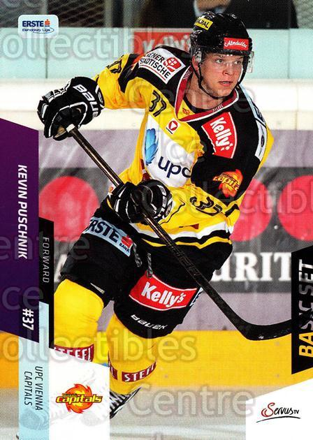 2014-15 Erste Bank Eishockey Liga EBEL Basic #113 Kevin Puschnik<br/>4 In Stock - $2.00 each - <a href=https://centericecollectibles.foxycart.com/cart?name=2014-15%20Erste%20Bank%20Eishockey%20Liga%20EBEL%20Basic%20%23113%20Kevin%20Puschnik...&quantity_max=4&price=$2.00&code=654693 class=foxycart> Buy it now! </a>