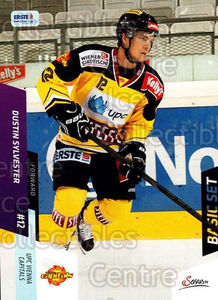 2014-15 Erste Bank Eishockey Liga EBEL Basic #114 Dustin Sylvester<br/>3 In Stock - $2.00 each - <a href=https://centericecollectibles.foxycart.com/cart?name=2014-15%20Erste%20Bank%20Eishockey%20Liga%20EBEL%20Basic%20%23114%20Dustin%20Sylveste...&quantity_max=3&price=$2.00&code=654694 class=foxycart> Buy it now! </a>