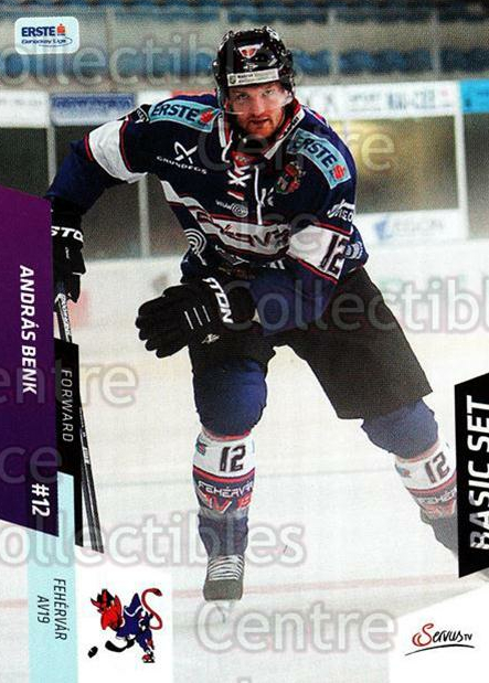 2014-15 Erste Bank Eishockey Liga EBEL Basic #156 Andras Benk<br/>4 In Stock - $2.00 each - <a href=https://centericecollectibles.foxycart.com/cart?name=2014-15%20Erste%20Bank%20Eishockey%20Liga%20EBEL%20Basic%20%23156%20Andras%20Benk...&quantity_max=4&price=$2.00&code=654736 class=foxycart> Buy it now! </a>