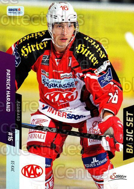 2014-15 Erste Bank Eishockey Liga EBEL Basic #204 Patrick Harand<br/>4 In Stock - $2.00 each - <a href=https://centericecollectibles.foxycart.com/cart?name=2014-15%20Erste%20Bank%20Eishockey%20Liga%20EBEL%20Basic%20%23204%20Patrick%20Harand...&quantity_max=4&price=$2.00&code=654784 class=foxycart> Buy it now! </a>
