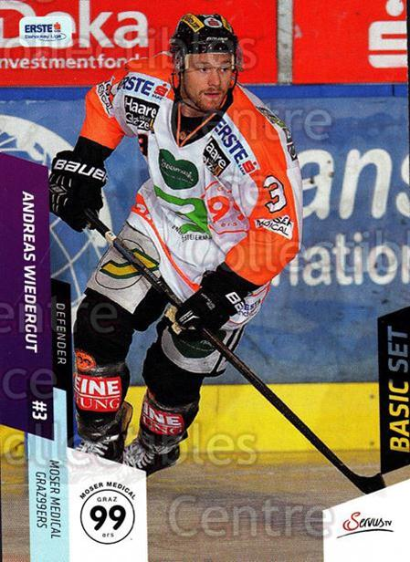 2014-15 Erste Bank Eishockey Liga EBEL Basic #222 Andreas Wiedergut<br/>4 In Stock - $2.00 each - <a href=https://centericecollectibles.foxycart.com/cart?name=2014-15%20Erste%20Bank%20Eishockey%20Liga%20EBEL%20Basic%20%23222%20Andreas%20Wiederg...&quantity_max=4&price=$2.00&code=654802 class=foxycart> Buy it now! </a>