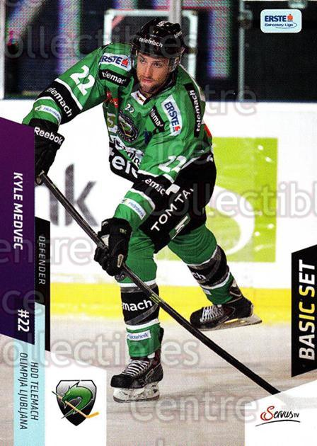 2014-15 Erste Bank Eishockey Liga EBEL Basic #249 Kyle Medvec<br/>3 In Stock - $2.00 each - <a href=https://centericecollectibles.foxycart.com/cart?name=2014-15%20Erste%20Bank%20Eishockey%20Liga%20EBEL%20Basic%20%23249%20Kyle%20Medvec...&quantity_max=3&price=$2.00&code=654829 class=foxycart> Buy it now! </a>