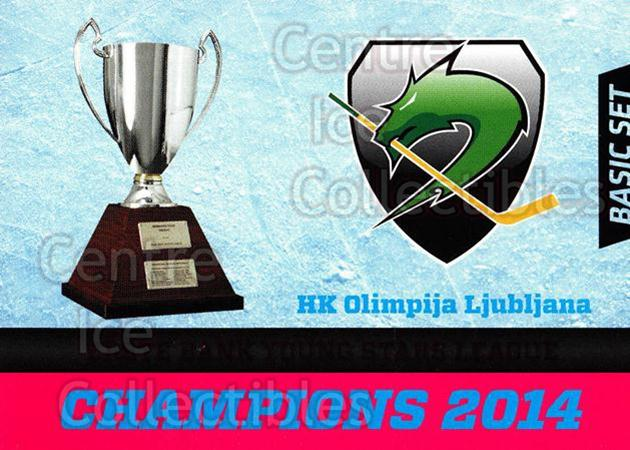 2014-15 Erste Bank Eishockey Liga EBEL Basic #290 EBYSL Champions, HDD Tilia Olimpija Ljubljana<br/>4 In Stock - $2.00 each - <a href=https://centericecollectibles.foxycart.com/cart?name=2014-15%20Erste%20Bank%20Eishockey%20Liga%20EBEL%20Basic%20%23290%20EBYSL%20Champions...&quantity_max=4&price=$2.00&code=654870 class=foxycart> Buy it now! </a>