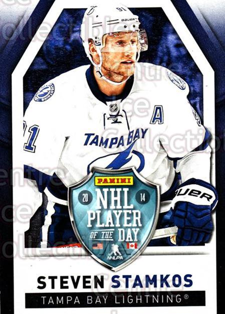 2013-14 Panini Player of the Day #2 Steven Stamkos<br/>1 In Stock - $2.00 each - <a href=https://centericecollectibles.foxycart.com/cart?name=2013-14%20Panini%20Player%20of%20the%20Day%20%232%20Steven%20Stamkos...&price=$2.00&code=654987 class=foxycart> Buy it now! </a>