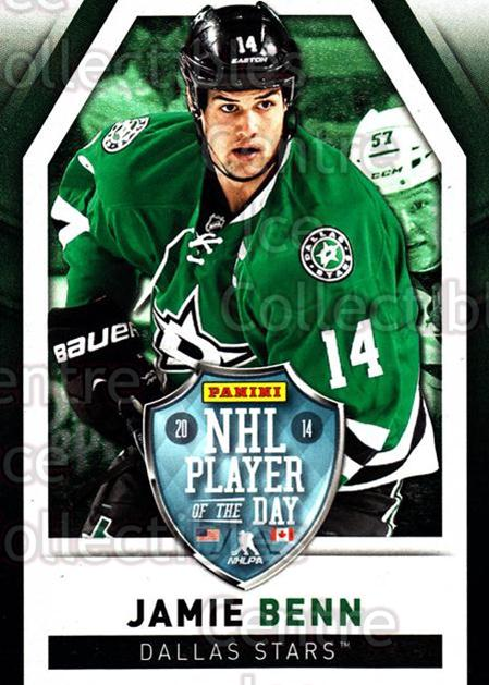 2013-14 Panini Player of the Day #4 Jamie Benn<br/>1 In Stock - $2.00 each - <a href=https://centericecollectibles.foxycart.com/cart?name=2013-14%20Panini%20Player%20of%20the%20Day%20%234%20Jamie%20Benn...&quantity_max=1&price=$2.00&code=654989 class=foxycart> Buy it now! </a>