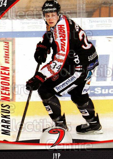 2015-16 Finnish Cardset #59 Markus Nenonen<br/>3 In Stock - $2.00 each - <a href=https://centericecollectibles.foxycart.com/cart?name=2015-16%20Finnish%20Cardset%20%2359%20Markus%20Nenonen...&quantity_max=3&price=$2.00&code=655411 class=foxycart> Buy it now! </a>