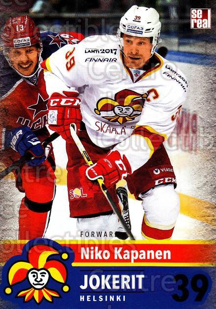 2015-16 Finnish Jokerit Helsinki Sereal #A01 Niko Kapanen<br/>10 In Stock - $2.00 each - <a href=https://centericecollectibles.foxycart.com/cart?name=2015-16%20Finnish%20Jokerit%20Helsinki%20Sereal%20%23A01%20Niko%20Kapanen...&quantity_max=10&price=$2.00&code=655557 class=foxycart> Buy it now! </a>