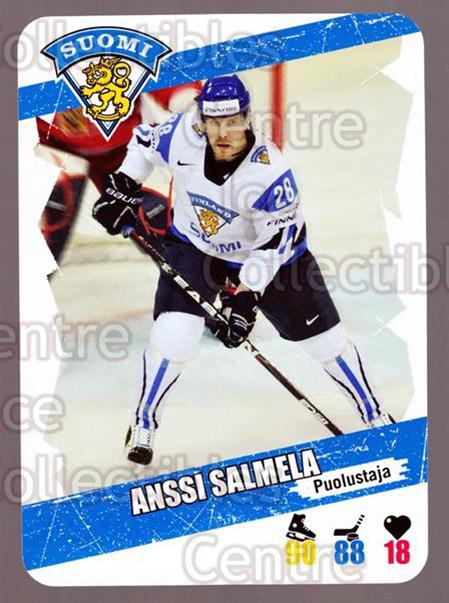 <a href=index.aspx?SetName=2013-14%20Finnish%20Suomi%20Leijonakortit>2013-14 Finnish Suomi Leijonakortit</a> #2 <a href=index.aspx?PlayerName=Anssi%20Salmela> Anssi Salmela</a><br/>2 in stock - $3.00 each - <a href=https://centericecollectibles.foxycart.com/cart?name=2013-14%20Finnish%20Suomi%20Leijonakortit%20%232%20Anssi%20Salmela...&price=$3.00&code=655890 class=foxycart> Buy it now! </a>
