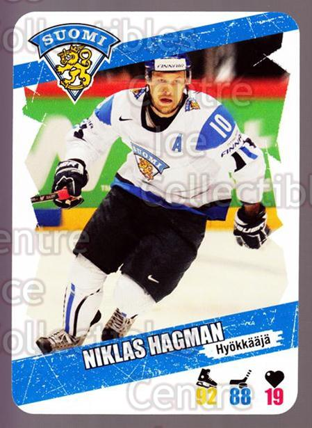 2013-14 Finnish Suomi Leijonakortit #61 Niklas Hagman<br/>2 In Stock - $3.00 each - <a href=https://centericecollectibles.foxycart.com/cart?name=2013-14%20Finnish%20Suomi%20Leijonakortit%20%2361%20Niklas%20Hagman...&quantity_max=2&price=$3.00&code=655949 class=foxycart> Buy it now! </a>