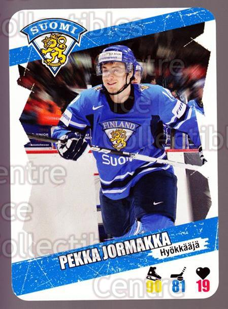 2013-14 Finnish Suomi Leijonakortit #67 Pekka Jormakka<br/>3 In Stock - $3.00 each - <a href=https://centericecollectibles.foxycart.com/cart?name=2013-14%20Finnish%20Suomi%20Leijonakortit%20%2367%20Pekka%20Jormakka...&quantity_max=3&price=$3.00&code=655955 class=foxycart> Buy it now! </a>