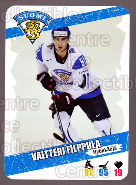 2013-14 Finnish Suomi Leijonakortit #102 Valtteri Filppula<br/>2 In Stock - $3.00 each - <a href=https://centericecollectibles.foxycart.com/cart?name=2013-14%20Finnish%20Suomi%20Leijonakortit%20%23102%20Valtteri%20Filppu...&quantity_max=2&price=$3.00&code=655990 class=foxycart> Buy it now! </a>
