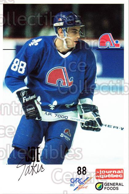 1988-89 Quebec Nordiques General Foods #29 Joe Sakic<br/>1 In Stock - $20.00 each - <a href=https://centericecollectibles.foxycart.com/cart?name=1988-89%20Quebec%20Nordiques%20General%20Foods%20%2329%20Joe%20Sakic...&price=$20.00&code=656004 class=foxycart> Buy it now! </a>