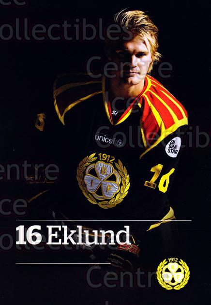 2014-15 Swedish Brynas IF Tigers Postcards #7 Oskar Eklund<br/>3 In Stock - $3.00 each - <a href=https://centericecollectibles.foxycart.com/cart?name=2014-15%20Swedish%20Brynas%20IF%20Tigers%20Postcards%20%237%20Oskar%20Eklund...&quantity_max=3&price=$3.00&code=656089 class=foxycart> Buy it now! </a>