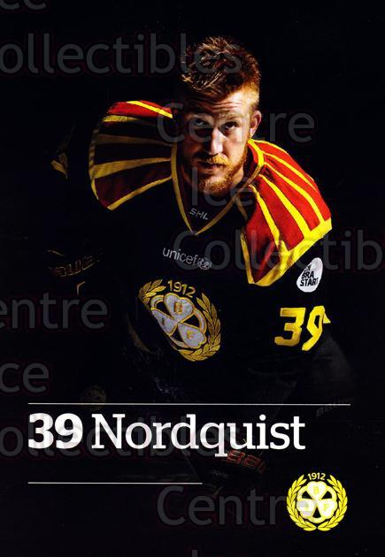 2014-15 Swedish Brynas IF Tigers Postcards #13 Jonas Nordquist<br/>3 In Stock - $3.00 each - <a href=https://centericecollectibles.foxycart.com/cart?name=2014-15%20Swedish%20Brynas%20IF%20Tigers%20Postcards%20%2313%20Jonas%20Nordquist...&quantity_max=3&price=$3.00&code=656095 class=foxycart> Buy it now! </a>