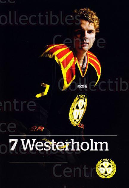 2014-15 Swedish Brynas IF Tigers Postcards #22 Ponthus Westerholm<br/>3 In Stock - $3.00 each - <a href=https://centericecollectibles.foxycart.com/cart?name=2014-15%20Swedish%20Brynas%20IF%20Tigers%20Postcards%20%2322%20Ponthus%20Westerh...&quantity_max=3&price=$3.00&code=656104 class=foxycart> Buy it now! </a>