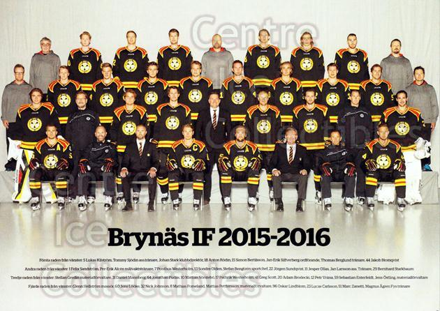 2015-16 Swedish Brynas IF Tigers Postcards #29 Team Photo, Brynas IF Tigers<br/>2 In Stock - $3.00 each - <a href=https://centericecollectibles.foxycart.com/cart?name=2015-16%20Swedish%20Brynas%20IF%20Tigers%20Postcards%20%2329%20Team%20Photo,%20Bry...&price=$3.00&code=656140 class=foxycart> Buy it now! </a>