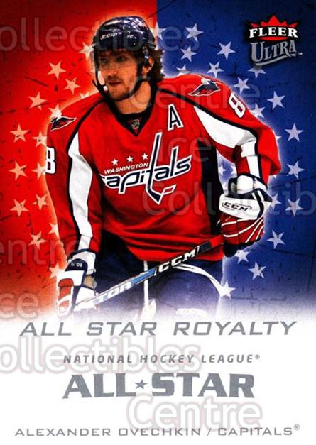 2008-09 Ultra All-Star Royalty #1 Alexander Ovechkin<br/>1 In Stock - $5.00 each - <a href=https://centericecollectibles.foxycart.com/cart?name=2008-09%20Ultra%20All-Star%20Royalty%20%231%20Alexander%20Ovech...&price=$5.00&code=656254 class=foxycart> Buy it now! </a>