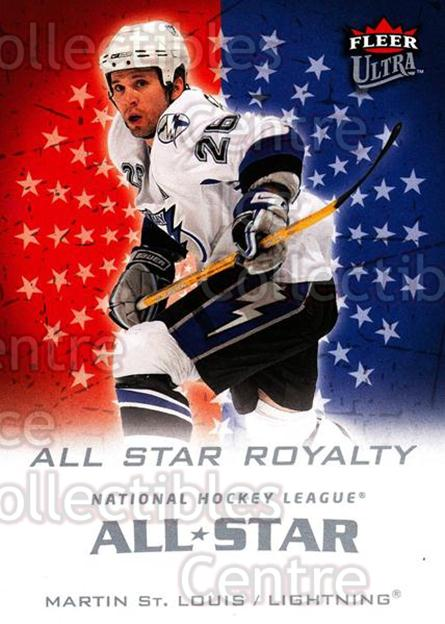 2008-09 Ultra All-Star Royalty #5 Martin St. Louis<br/>2 In Stock - $3.00 each - <a href=https://centericecollectibles.foxycart.com/cart?name=2008-09%20Ultra%20All-Star%20Royalty%20%235%20Martin%20St.%20Loui...&quantity_max=2&price=$3.00&code=656258 class=foxycart> Buy it now! </a>