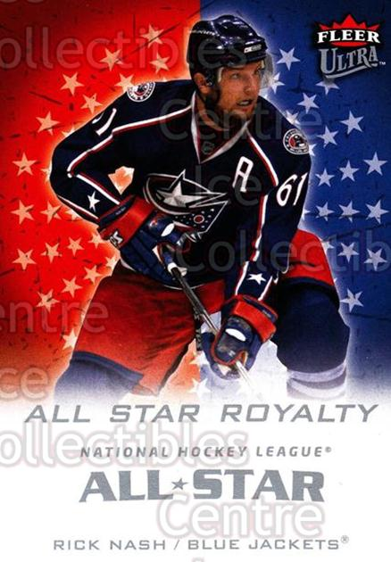 2008-09 Ultra All-Star Royalty #15 Rick Nash<br/>1 In Stock - $3.00 each - <a href=https://centericecollectibles.foxycart.com/cart?name=2008-09%20Ultra%20All-Star%20Royalty%20%2315%20Rick%20Nash...&quantity_max=1&price=$3.00&code=656268 class=foxycart> Buy it now! </a>