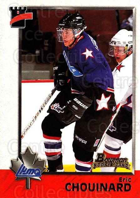 1998 Bowman CHL #104 Eric Chouinard<br/>6 In Stock - $1.00 each - <a href=https://centericecollectibles.foxycart.com/cart?name=1998%20Bowman%20CHL%20%23104%20Eric%20Chouinard...&quantity_max=6&price=$1.00&code=65660 class=foxycart> Buy it now! </a>