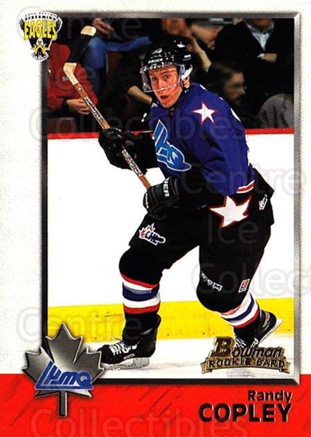 1998 Bowman CHL #114 Randy Copley<br/>11 In Stock - $1.00 each - <a href=https://centericecollectibles.foxycart.com/cart?name=1998%20Bowman%20CHL%20%23114%20Randy%20Copley...&quantity_max=11&price=$1.00&code=65671 class=foxycart> Buy it now! </a>
