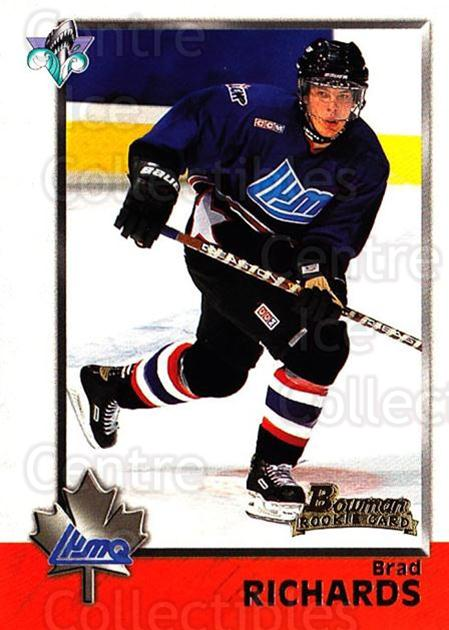 1998 Bowman CHL #116 Brad Richards<br/>6 In Stock - $1.00 each - <a href=https://centericecollectibles.foxycart.com/cart?name=1998%20Bowman%20CHL%20%23116%20Brad%20Richards...&quantity_max=6&price=$1.00&code=65673 class=foxycart> Buy it now! </a>