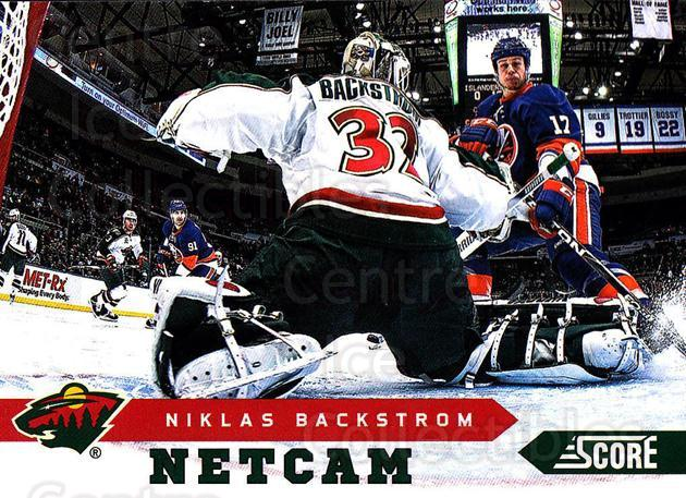 2013-14 Score Net Cam #16 Niklas Backstrom<br/>1 In Stock - $2.00 each - <a href=https://centericecollectibles.foxycart.com/cart?name=2013-14%20Score%20Net%20Cam%20%2316%20Niklas%20Backstro...&quantity_max=1&price=$2.00&code=656804 class=foxycart> Buy it now! </a>