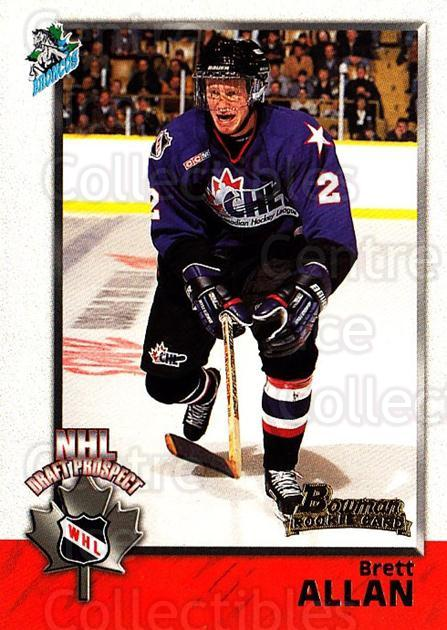 1998 Bowman CHL #122 Brett Allan<br/>11 In Stock - $1.00 each - <a href=https://centericecollectibles.foxycart.com/cart?name=1998%20Bowman%20CHL%20%23122%20Brett%20Allan...&quantity_max=11&price=$1.00&code=65680 class=foxycart> Buy it now! </a>