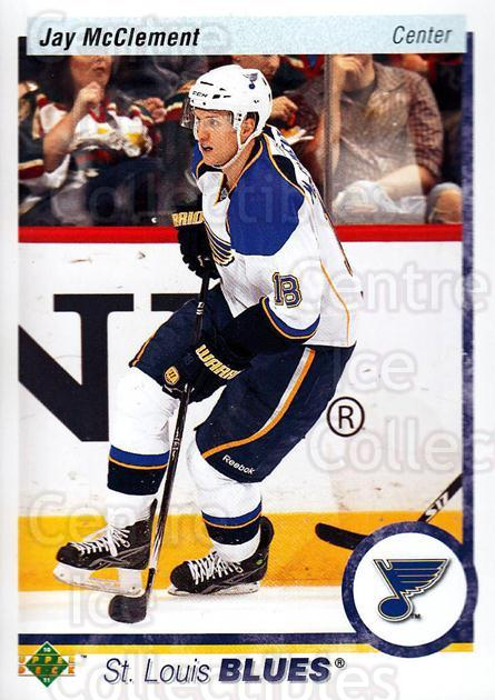 2010-11 Upper Deck 20th Anniversary Parallel #33 Jay McClement<br/>1 In Stock - $2.00 each - <a href=https://centericecollectibles.foxycart.com/cart?name=2010-11%20Upper%20Deck%2020th%20Anniversary%20Parallel%20%2333%20Jay%20McClement...&quantity_max=1&price=$2.00&code=656941 class=foxycart> Buy it now! </a>