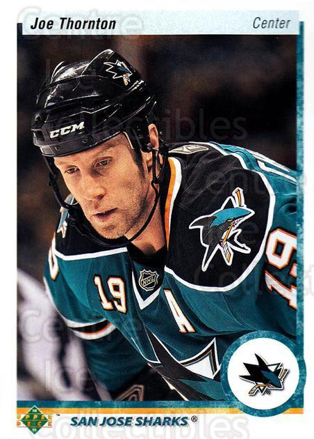 2010-11 Upper Deck 20th Anniversary Parallel #34 Joe Thornton<br/>1 In Stock - $2.00 each - <a href=https://centericecollectibles.foxycart.com/cart?name=2010-11%20Upper%20Deck%2020th%20Anniversary%20Parallel%20%2334%20Joe%20Thornton...&quantity_max=1&price=$2.00&code=656942 class=foxycart> Buy it now! </a>