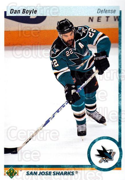 2010-11 Upper Deck 20th Anniversary Parallel #35 Dan Boyle<br/>1 In Stock - $2.00 each - <a href=https://centericecollectibles.foxycart.com/cart?name=2010-11%20Upper%20Deck%2020th%20Anniversary%20Parallel%20%2335%20Dan%20Boyle...&quantity_max=1&price=$2.00&code=656943 class=foxycart> Buy it now! </a>