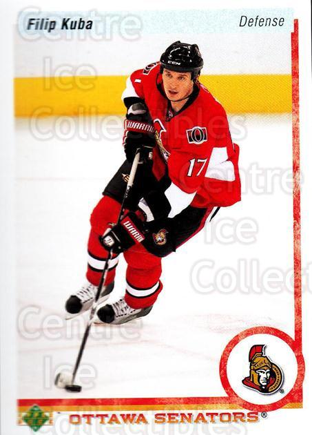 2010-11 Upper Deck 20th Anniversary Parallel #65 Filip Kuba<br/>1 In Stock - $2.00 each - <a href=https://centericecollectibles.foxycart.com/cart?name=2010-11%20Upper%20Deck%2020th%20Anniversary%20Parallel%20%2365%20Filip%20Kuba...&quantity_max=1&price=$2.00&code=656973 class=foxycart> Buy it now! </a>