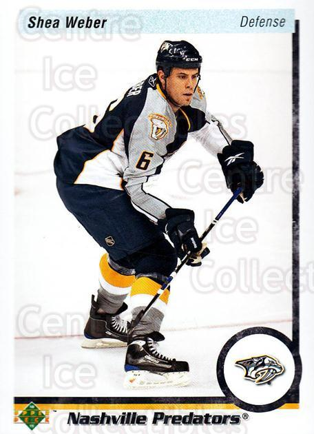 2010-11 Upper Deck 20th Anniversary Parallel #89 Shea Weber<br/>3 In Stock - $2.00 each - <a href=https://centericecollectibles.foxycart.com/cart?name=2010-11%20Upper%20Deck%2020th%20Anniversary%20Parallel%20%2389%20Shea%20Weber...&quantity_max=3&price=$2.00&code=656997 class=foxycart> Buy it now! </a>