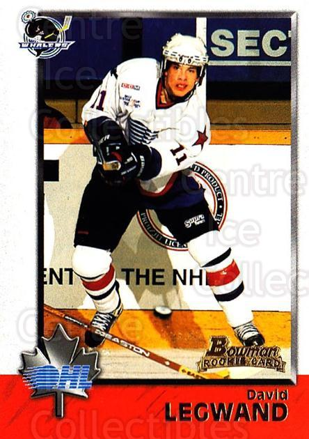 1998 Bowman CHL #14 David Legwand<br/>10 In Stock - $1.00 each - <a href=https://centericecollectibles.foxycart.com/cart?name=1998%20Bowman%20CHL%20%2314%20David%20Legwand...&quantity_max=10&price=$1.00&code=65699 class=foxycart> Buy it now! </a>