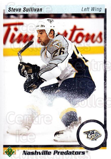 2010-11 Upper Deck 20th Anniversary Parallel #93 Steve Sullivan<br/>1 In Stock - $2.00 each - <a href=https://centericecollectibles.foxycart.com/cart?name=2010-11%20Upper%20Deck%2020th%20Anniversary%20Parallel%20%2393%20Steve%20Sullivan...&quantity_max=1&price=$2.00&code=657001 class=foxycart> Buy it now! </a>