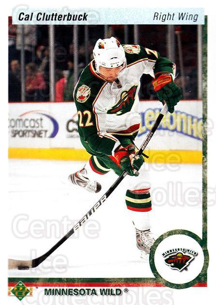 2010-11 Upper Deck 20th Anniversary Parallel #106 Cal Clutterbuck<br/>2 In Stock - $2.00 each - <a href=https://centericecollectibles.foxycart.com/cart?name=2010-11%20Upper%20Deck%2020th%20Anniversary%20Parallel%20%23106%20Cal%20Clutterbuck...&quantity_max=2&price=$2.00&code=657014 class=foxycart> Buy it now! </a>