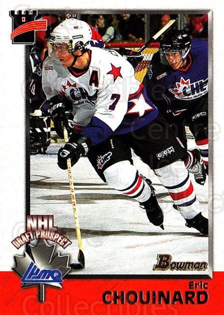 1998 Bowman CHL #143 Eric Chouinard<br/>7 In Stock - $1.00 each - <a href=https://centericecollectibles.foxycart.com/cart?name=1998%20Bowman%20CHL%20%23143%20Eric%20Chouinard...&quantity_max=7&price=$1.00&code=65702 class=foxycart> Buy it now! </a>