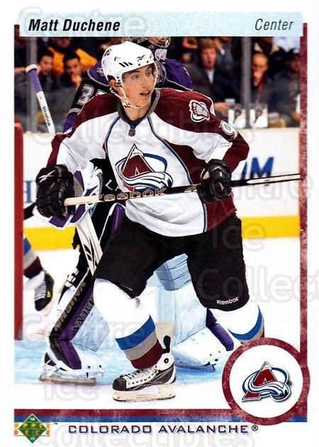 2010-11 Upper Deck 20th Anniversary Parallel #148 Matt Duchene<br/>1 In Stock - $3.00 each - <a href=https://centericecollectibles.foxycart.com/cart?name=2010-11%20Upper%20Deck%2020th%20Anniversary%20Parallel%20%23148%20Matt%20Duchene...&quantity_max=1&price=$3.00&code=657056 class=foxycart> Buy it now! </a>