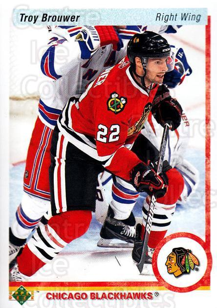 2010-11 Upper Deck 20th Anniversary Parallel #153 Troy Brouwer<br/>1 In Stock - $2.00 each - <a href=https://centericecollectibles.foxycart.com/cart?name=2010-11%20Upper%20Deck%2020th%20Anniversary%20Parallel%20%23153%20Troy%20Brouwer...&quantity_max=1&price=$2.00&code=657061 class=foxycart> Buy it now! </a>