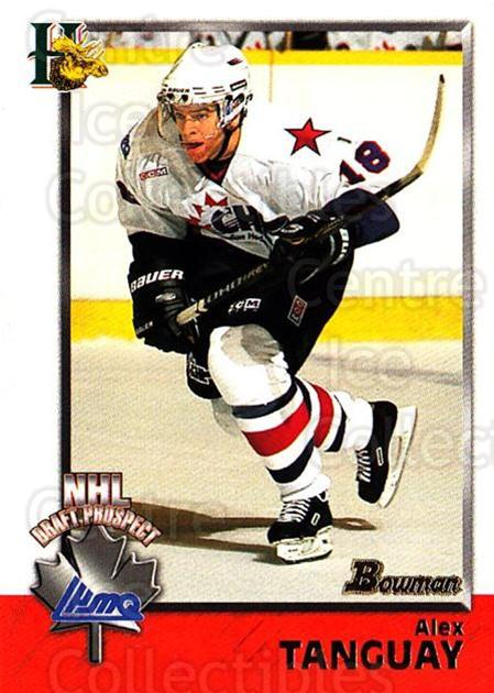 1998 Bowman CHL #152 Alex Tanguay<br/>11 In Stock - $1.00 each - <a href=https://centericecollectibles.foxycart.com/cart?name=1998%20Bowman%20CHL%20%23152%20Alex%20Tanguay...&quantity_max=11&price=$1.00&code=65712 class=foxycart> Buy it now! </a>