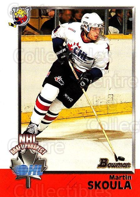 1998 Bowman CHL #158 Martin Skoula<br/>11 In Stock - $1.00 each - <a href=https://centericecollectibles.foxycart.com/cart?name=1998%20Bowman%20CHL%20%23158%20Martin%20Skoula...&quantity_max=11&price=$1.00&code=65718 class=foxycart> Buy it now! </a>