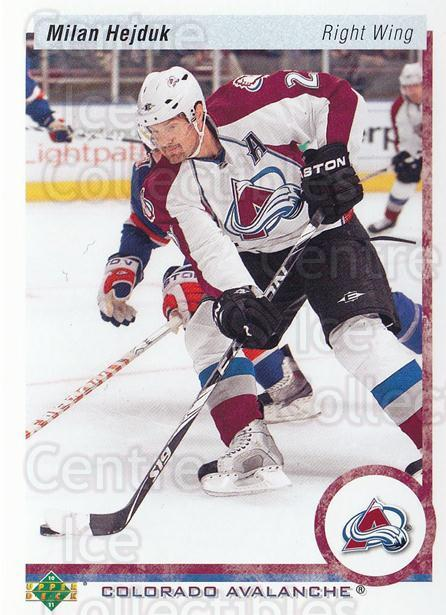 2010-11 Upper Deck 20th Anniversary Parallel #294 Milan Hejduk<br/>1 In Stock - $2.00 each - <a href=https://centericecollectibles.foxycart.com/cart?name=2010-11%20Upper%20Deck%2020th%20Anniversary%20Parallel%20%23294%20Milan%20Hejduk...&quantity_max=1&price=$2.00&code=657202 class=foxycart> Buy it now! </a>