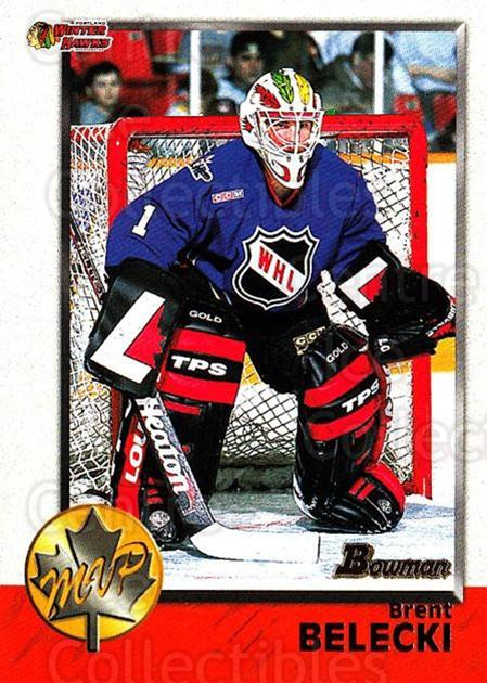 1998 Bowman CHL #162 Brent Belecki<br/>11 In Stock - $1.00 each - <a href=https://centericecollectibles.foxycart.com/cart?name=1998%20Bowman%20CHL%20%23162%20Brent%20Belecki...&quantity_max=11&price=$1.00&code=65723 class=foxycart> Buy it now! </a>