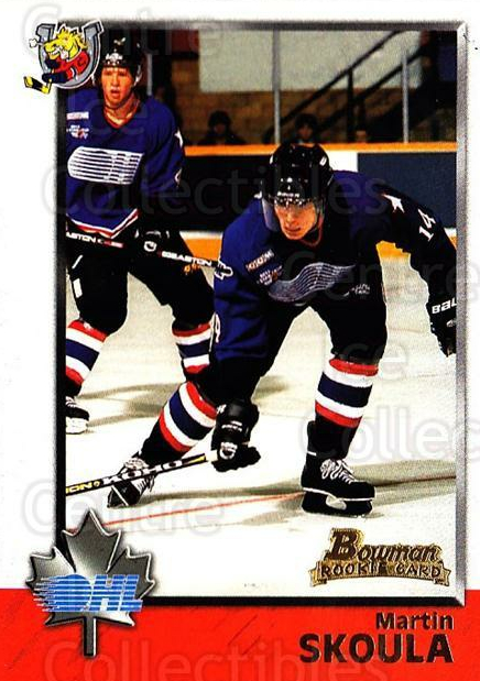 1998 Bowman CHL #22 Martin Skoula<br/>11 In Stock - $1.00 each - <a href=https://centericecollectibles.foxycart.com/cart?name=1998%20Bowman%20CHL%20%2322%20Martin%20Skoula...&quantity_max=11&price=$1.00&code=65733 class=foxycart> Buy it now! </a>