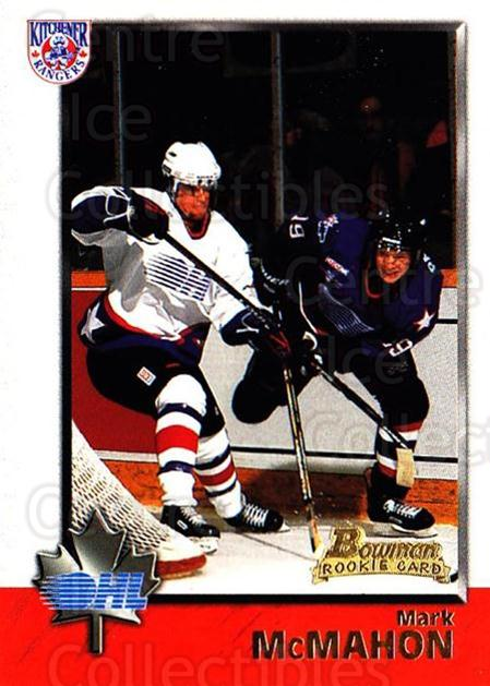1998 Bowman CHL #3 Mark McMahon<br/>11 In Stock - $1.00 each - <a href=https://centericecollectibles.foxycart.com/cart?name=1998%20Bowman%20CHL%20%233%20Mark%20McMahon...&quantity_max=11&price=$1.00&code=65741 class=foxycart> Buy it now! </a>